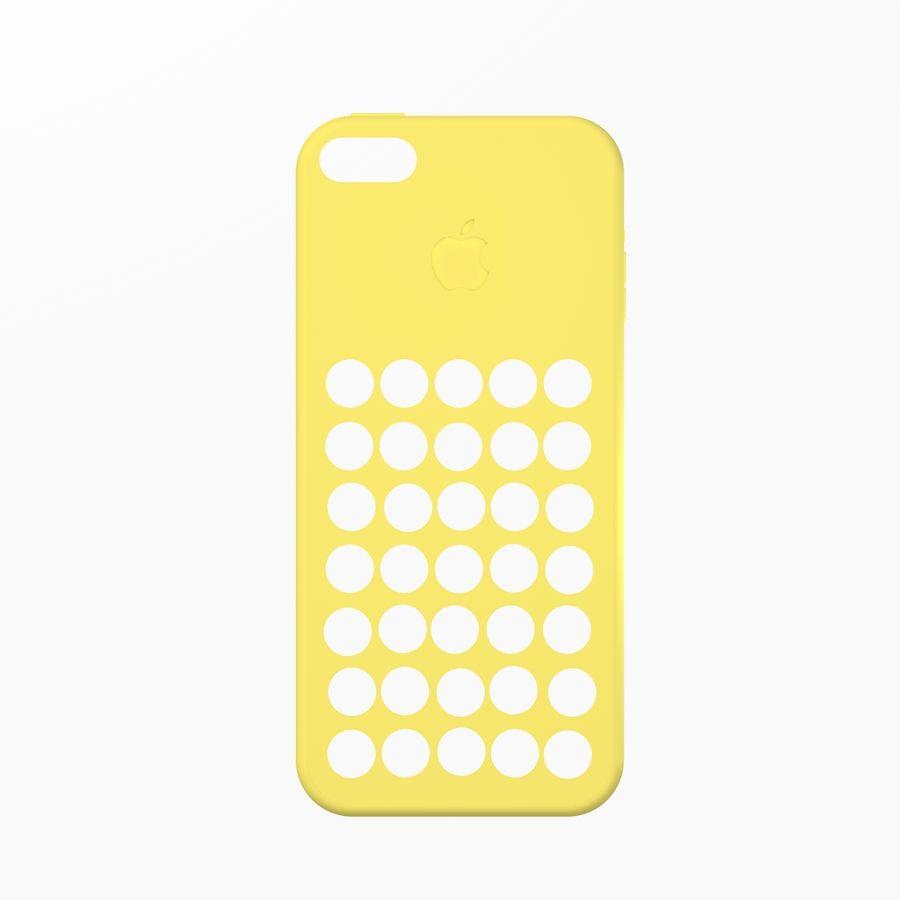 iPhone 5C Kılıfı royalty-free 3d model - Preview no. 3