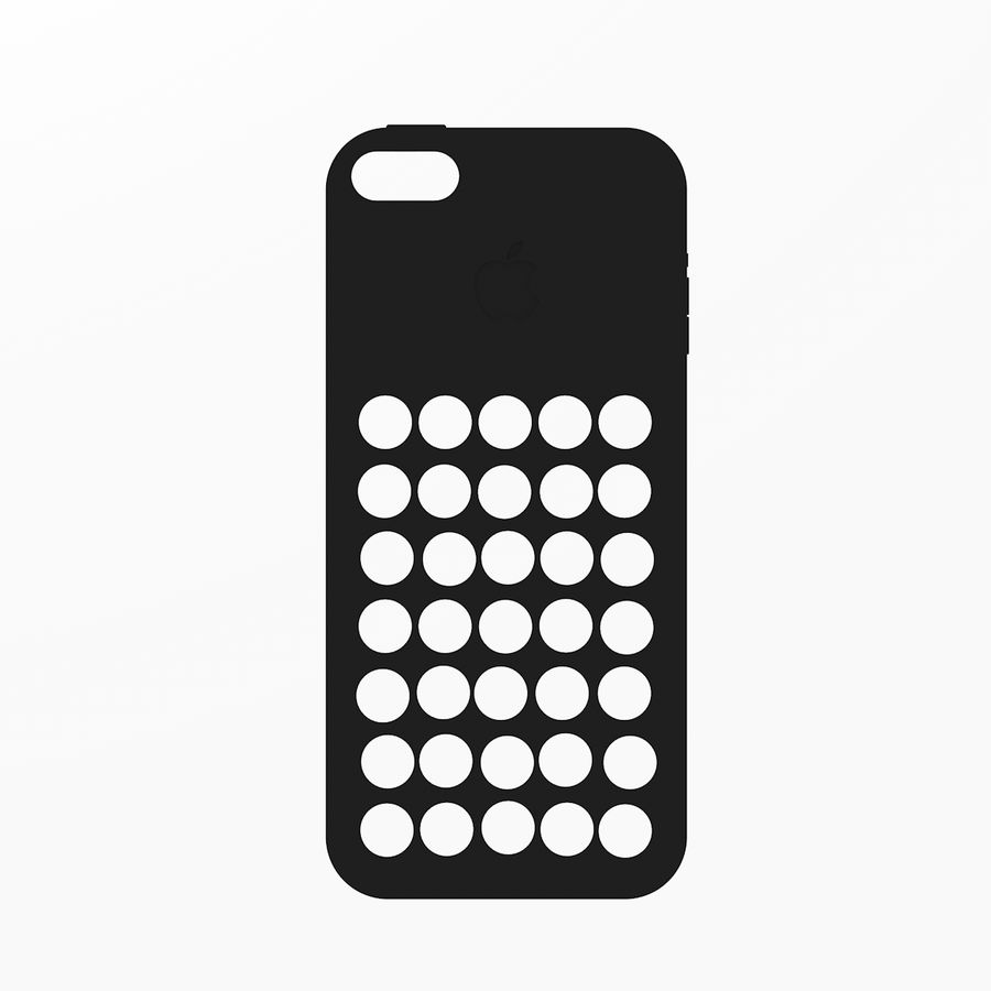 iPhone 5C Kılıfı royalty-free 3d model - Preview no. 9