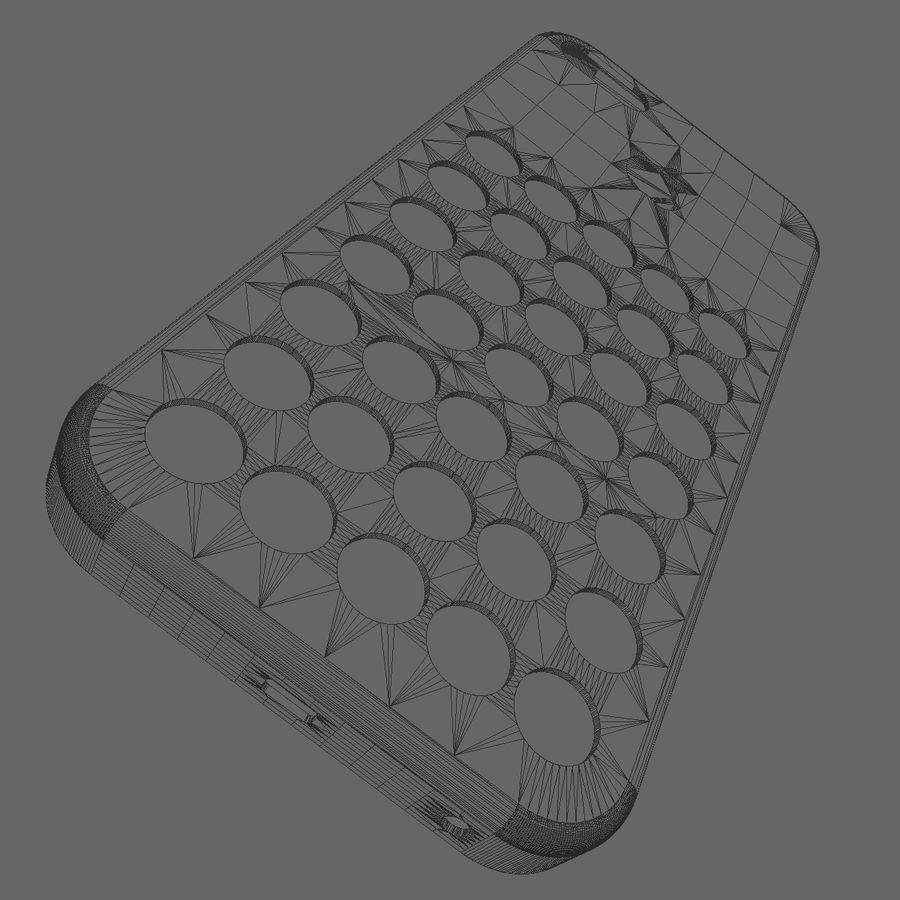 iPhone 5C Kılıfı royalty-free 3d model - Preview no. 14