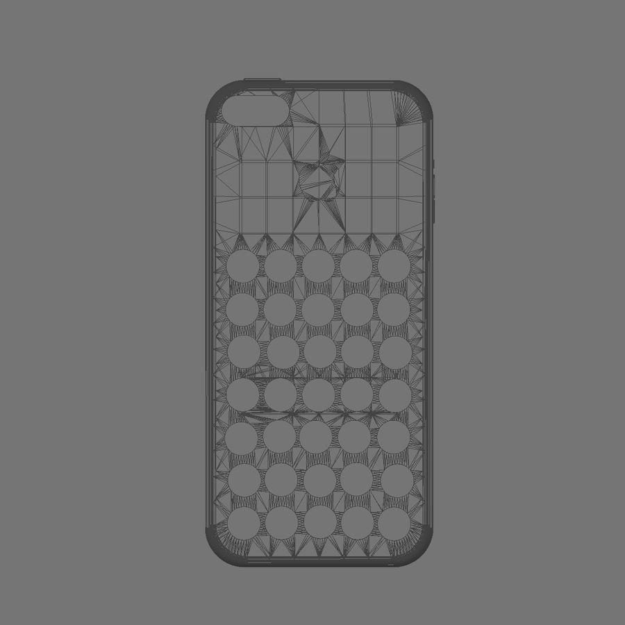iPhone 5C Kılıfı royalty-free 3d model - Preview no. 11