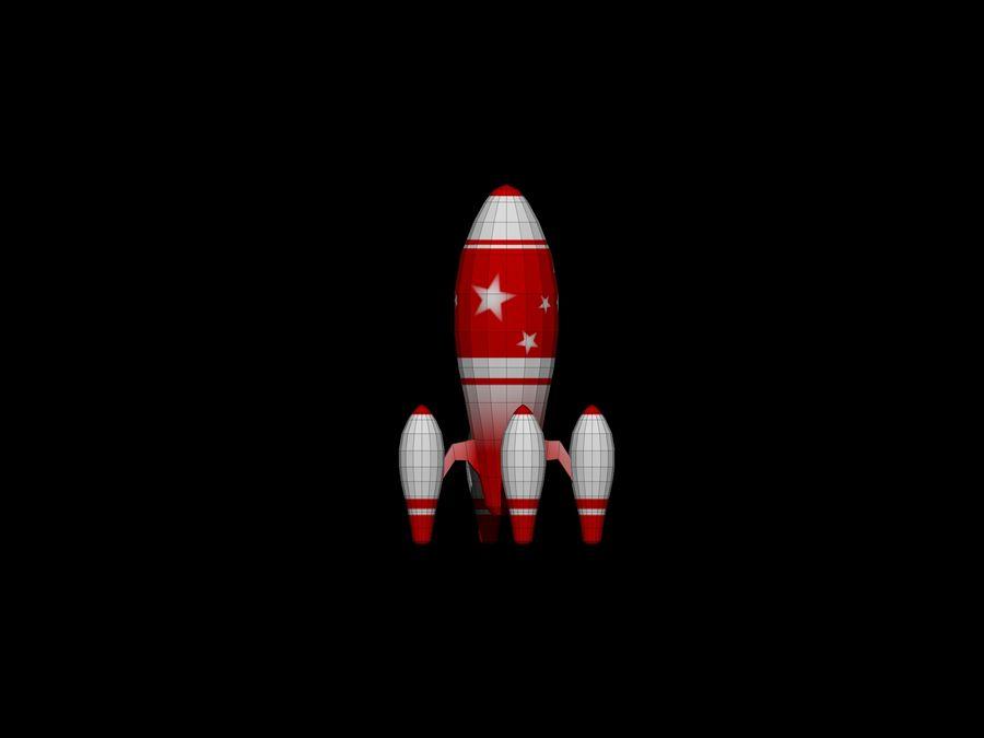 ロケット royalty-free 3d model - Preview no. 3