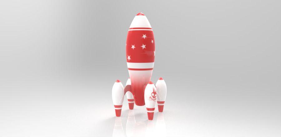 ロケット royalty-free 3d model - Preview no. 1