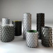 Vaso di origami 3d model