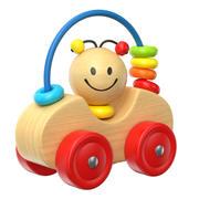 Brinquedo de madeira 3d model