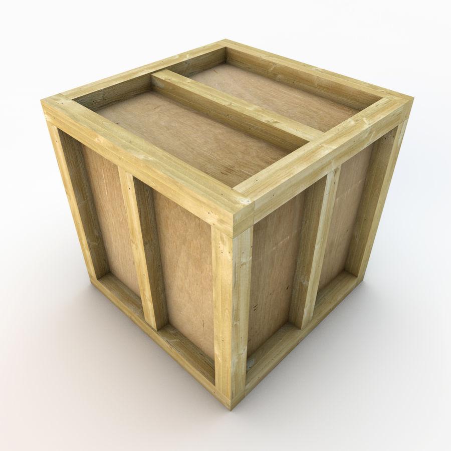 木箱 royalty-free 3d model - Preview no. 16