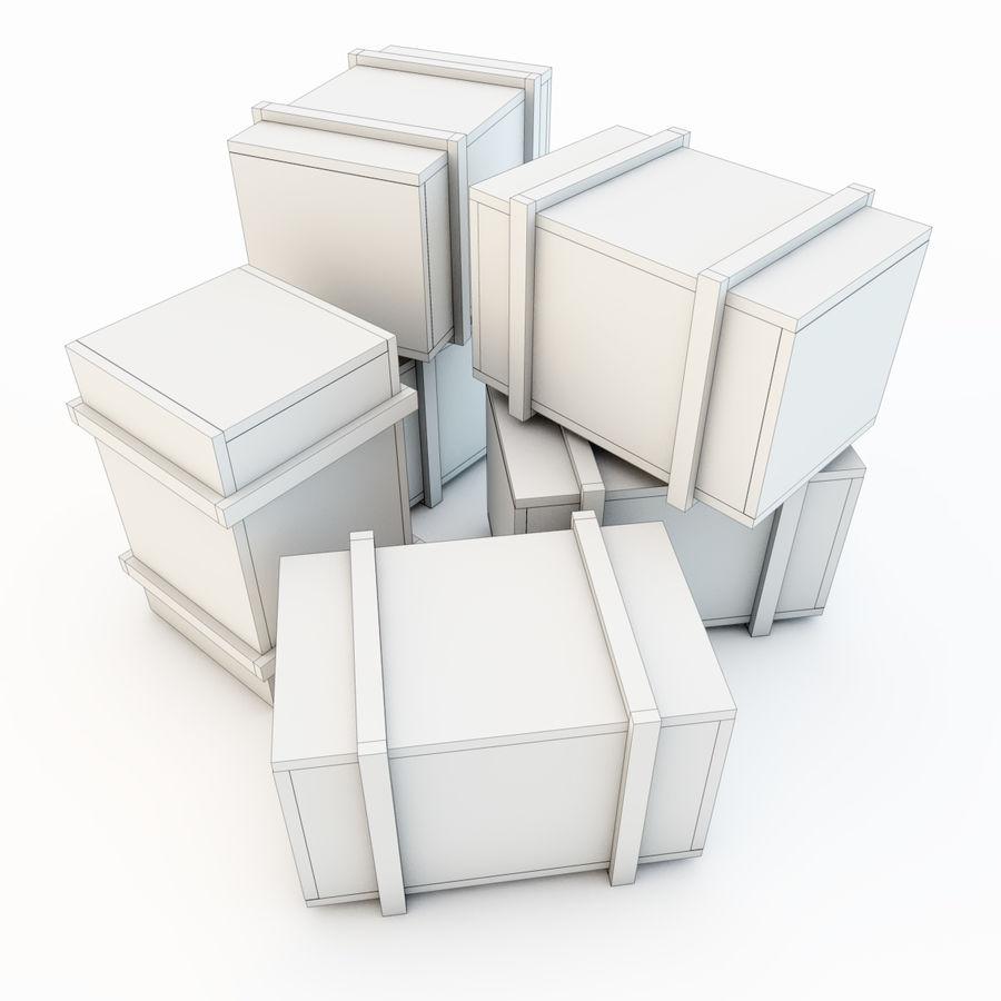 木箱 royalty-free 3d model - Preview no. 29