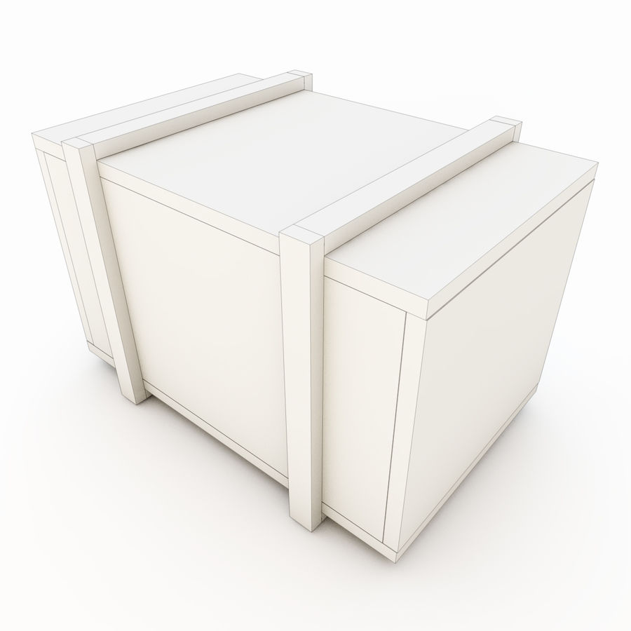 木箱 royalty-free 3d model - Preview no. 32