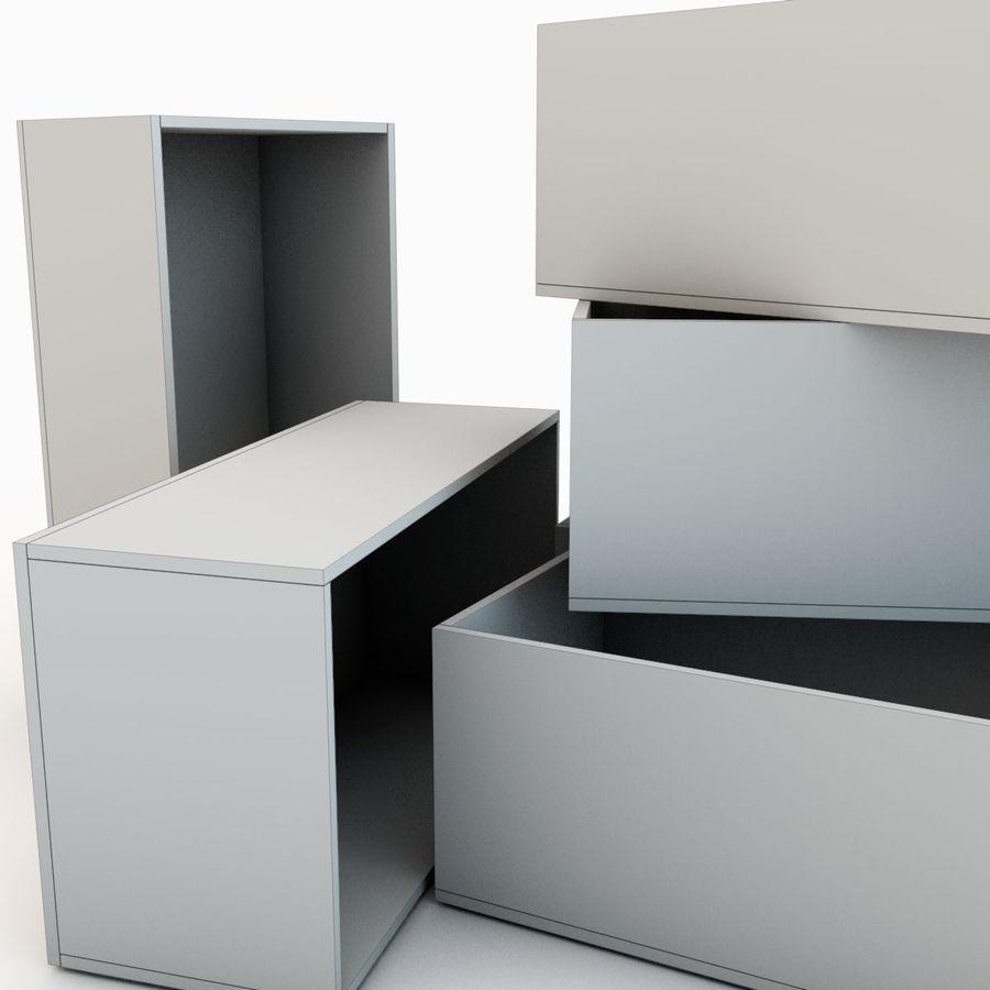 木箱 royalty-free 3d model - Preview no. 40