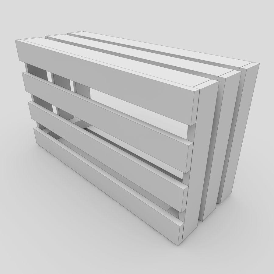 木箱 royalty-free 3d model - Preview no. 19