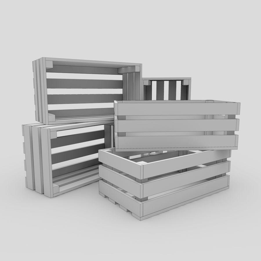木箱 royalty-free 3d model - Preview no. 15