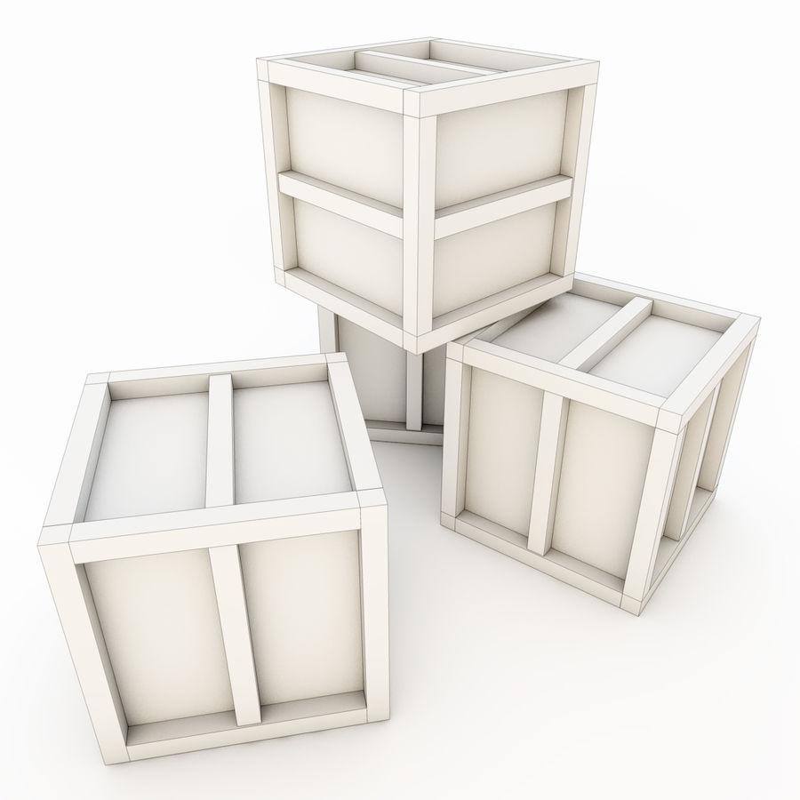 木箱 royalty-free 3d model - Preview no. 24