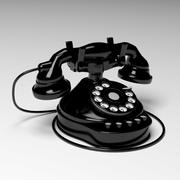 Vintage telefon 3d model