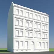 旧建筑 3d model