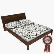 Säng Ikea Nyvoll 3d model