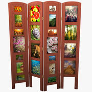 Photo Frame Room Divider 3d model