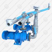 electric pump 3d model