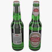 Stella Artois Beer Bottle 3d model