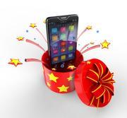 3-смартфон 3d model