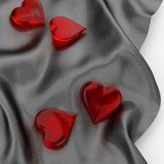Paño corazón2 modelo 3d