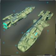 Nave espacial 3d model