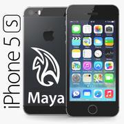 Apple iPhone 5S MAYA 3d model