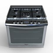 Whirlpool Stove WE9620S 3d model