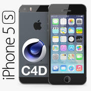 Apple iPhone 5S SİNEMA 4D 3d model