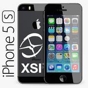 Apple iPhone 5S SoftimageXSI 3d model