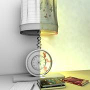 Relógio de Mesa Moderno 3d model