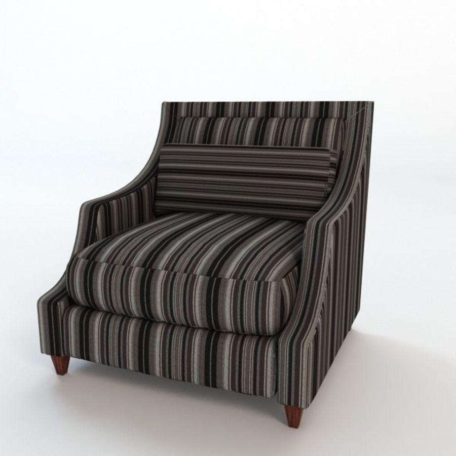 Кресло для отдыха royalty-free 3d model - Preview no. 1