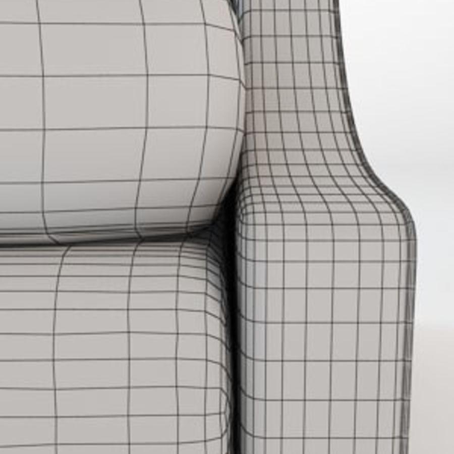 Кресло для отдыха royalty-free 3d model - Preview no. 10