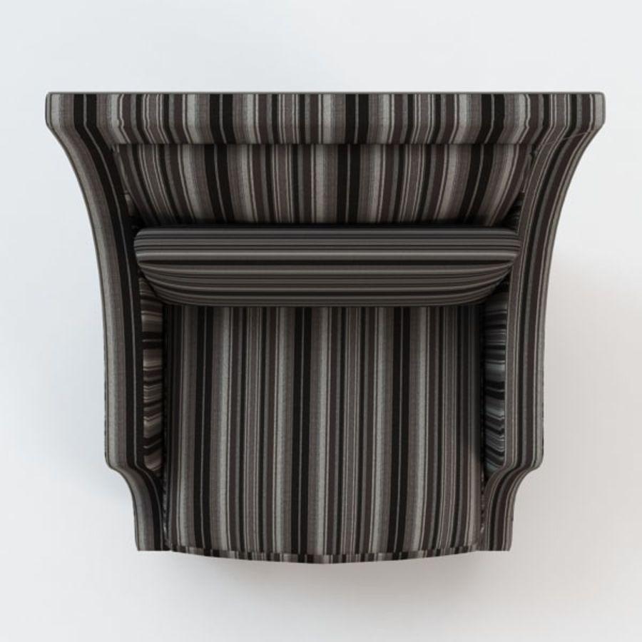 Кресло для отдыха royalty-free 3d model - Preview no. 6