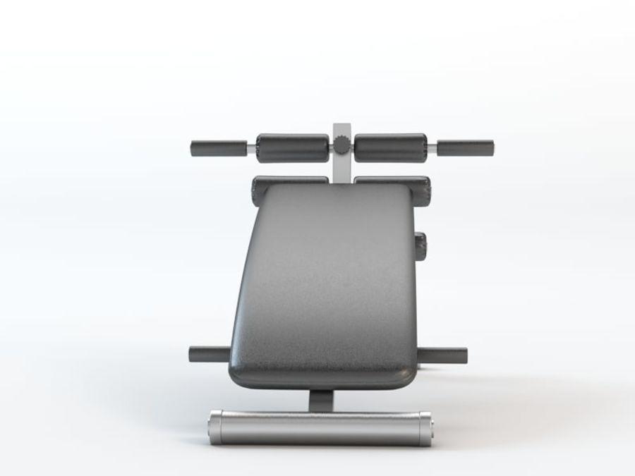 Strumento da palestra royalty-free 3d model - Preview no. 2