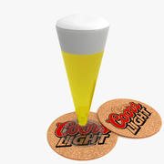 Beer glass_3 3d model