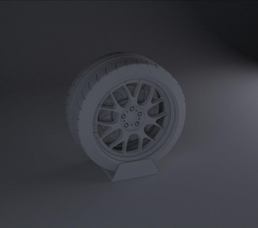 BBS Rim Motorsport轮 royalty-free 3d model - Preview no. 3
