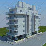 building(6) 3d model
