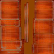 3 Sectie Desktop Sorter 3d model