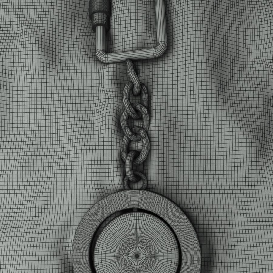 Key Chain & Fob royalty-free 3d model - Preview no. 5