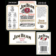 Jim Beam Bottle of Bourbon 3d model