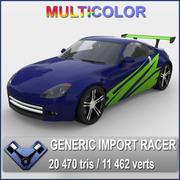 """Generic Import Racer """"Katamori Z"""" 3d model"""