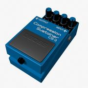 Compressione Sustainer Pedal 3d model