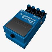 Compressie Sustainer pedaal 3d model