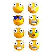 Getuigde Emoticon 3d model