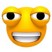 Manipulierter Emoticon 3d model