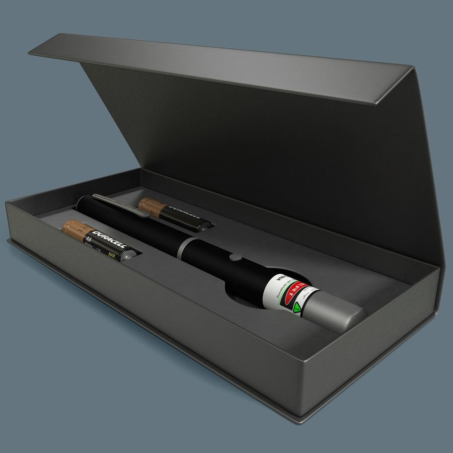 Green Laser Pointer Case of 10 5mW 532nm