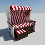 沙滩椅 3d model