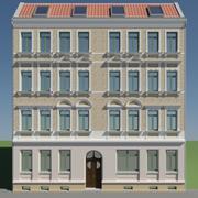 Edificio histórico modelo 3d