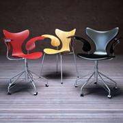 Lily Döner sandalye 3d model