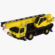 Low poly GMK 2035 Crane 3d model