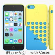 Apple iPhone 5c Colors Cases 3d model